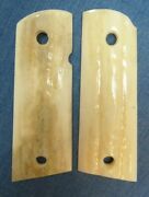 1911 Elk Stag Grips Compact Officers And Clones Fits Colt Sandw Fast Usa Shipper
