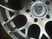 19-inch Porsche 991 996 997 Carrera C4s Turbo Ruger Forged Silver 5x130 Lugs
