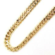 18k Yellow Gold Necklace About29.7g About50cm Kiheidouble Free Shipping Used
