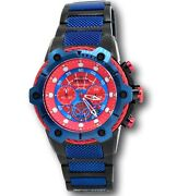 Marvel Limited Edition Spiderman 25782 Speedway Chronograph Watch 51.5mm