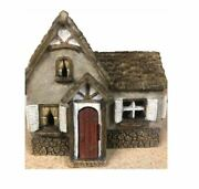 Miniature Tudor House Fairy Garden House With Hinged Door Forest House