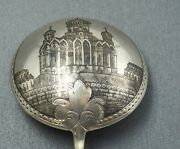 Khlebnikov Silversmith Silver Presentation Spoon Moscow Cathedral Collectable