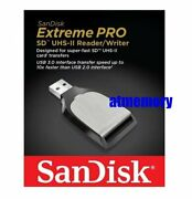 Sandisk Extreme Pro Sd Sdhc Sdxc Uhs-ii Card Reader/writer Usb3.0 Type-a Sddr399