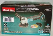 Makita Xag10z 4-1/2 18v Lxt Brushless Cut-off Angle Grinder Tool Only