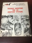 1960s Johnson Trouble Shooting The Cd Ignition Systems Js-4373