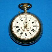 Vintage Rare Antique Roskopf Swiss Wille Freres Pocket Watch Collectible 1895