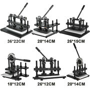 Leather Cutting Machine Manual Die Cutter Leather Embosser Hand Press Mold Craft