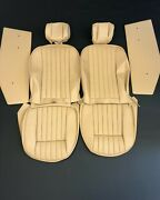New Jaguar Xke E-type S2 S3 Vynil Seat Cover Made To Original Specs - Cinnamon