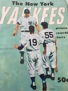 Complete Set Of Dell New York Yankees Yearbooks 1955-1965 Mickey Mantle Berra