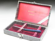 Very Rare Antique Box For Straight Razors Used At A Barber Shop In Japanf-133