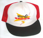 Vintage Snapback Mesh Trucker Hat Big O Tires Made In Usa 80s Michelin Goodyear