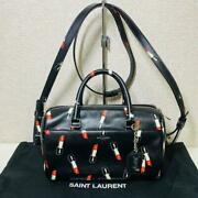 Saint Laurent 2way Bag A Lipstick Baby Duffel 2015and039 Limited Edition