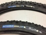 2 Vintage Nos Hutchinson Mosquito Air Light 26 X 2.00 Mtn Bike Tires And Tubes