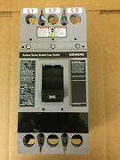 Siemens Fxd63f250 250a Sentron Molded Case Circuit Breaker Switch