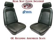 Fully Assembled Oe Reclining Seats And Standard Rear Seat Upholstery 1969 Camaro