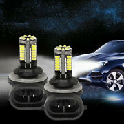 2x 881 Led Replacement 12v Car Fog Light Bulbs 862/886/889/894/896 Accessories