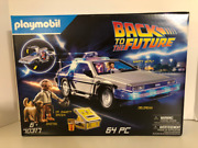 New Back To The Future Delorean Playset By Playmobil Free Shipping
