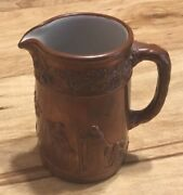 Very Rare Wedgwood Queensware Copper Coated Creamer