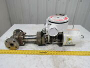 Flowserve Mark-one 1 Actuated Stainless Control Valve Assembly W/logix 3200md