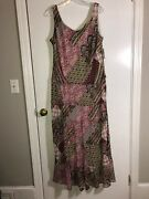 Jones Studio Beautiful Pullover Lined Dress Size 18 W New With Tags 79.95