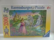 Ravensburger Puzzle 200 Xxl Princess With A Horse 2009. New And Sealed