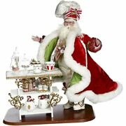 Mark Roberts 2020 Collection Christmas Kitchen Santa 25and039and039 Figurine