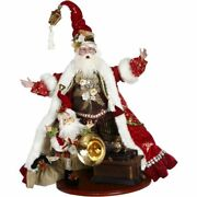 Mark Roberts 2020 Collection Santaand039s Old Fashioned Phonograph 25.5and039and039 Figurine
