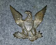 Civil War Federal Insignia Soldier Camp Eagle Artand039 From A Jeff Davis Hat Pin