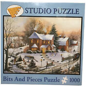 American Gothic Bits And Pieces 1000 Piece Jigsaw Puzzle Mary Ann Vessey New