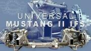 New Tci Universal Mustang Ii Weld-on Clip Subframe 57.5 Or 60 Track Width