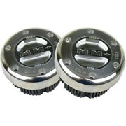 449s/s Mile Marker Set Of 2 Locking Hubs New For Chevy Truck F250 F350 Pair