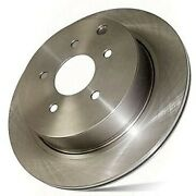 121.65099 Centric Brake Disc Front Driver Or Passenger Side New Rwd Rh Lh
