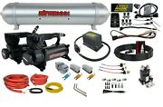 Air Ride Suspension Kit Complete Wireless Management Control 3 Presets Black 580