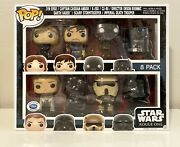 Star Wars Funko Pop Rogue One 8 Pack Disney Store Limited Edition 3000