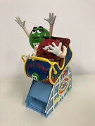 Mandm Candy Dispenser Limited Edition Wild Thing Roller Coaster Car Collectible