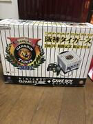 Nintendo Game Cube Tigers Limited Gc Console Victory 2003 Memorial W/ Box Rare J
