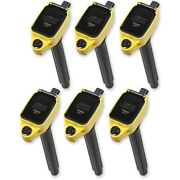 140648-6 Accel Set Of 6 Ignition Coils New For Town And Country Grand Cherokee
