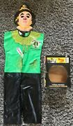 Vintage The Wizard Of Oz 50th Anniversary Scarecrow Collegeville Costume W/ Box