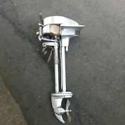 Vintage 1930's Evinrude Sportwin Outboard Boat Motor Made In The Usa