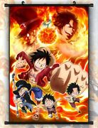 One Piece Cover Anime Hd Wall Home Decoration Scroll Poster 9060cm 046