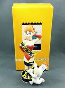 Droopy Tex Avery - Démons And Merveilles 1999 - Droopy And Miss 2000 Mini Statuet