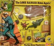 The Lone Ranger - Marx Toys - Panoplie Accessoire The Red River Floodwaters