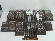 Christofle Spatours Cutlery Set Of 135 Parts - Very Beautiful Condition