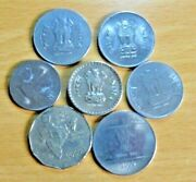 India Starter Collection / Job Lot / Various Collectable Coins Ref 9903x