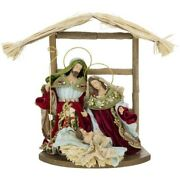 Mark Roberts 2020 Collection Nativity Stable Small 13x13 Inches Figurine