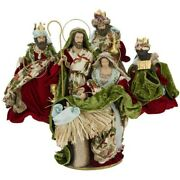Mark Roberts 2020 Collection Nativity Of Venice Green, Set Of 4 Figurines