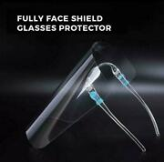 1000 Set Unisex Safety Face Shield Anti-splash Facial Cover Clear Face Protector