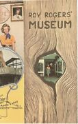 Cowboy Roy Rogers Museum 1960s 1970s Brochure With Dale Evans Apple Valley Ca