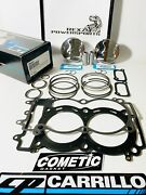 Polaris Rzr Xp900 93mm Stock Bore 12.51 Cp Pistons And Gasket Kit M9037 And C3446