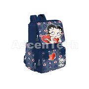 Betty Boop - Extensible Backpack 40 X 30 X15 +10 Cm